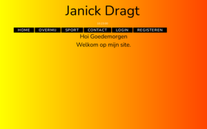 Student: 'janick-dragt'